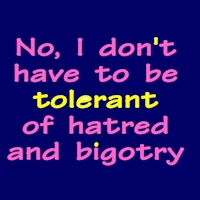 No Tolerate Hate