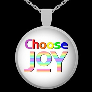 choose JOY necklace at GB