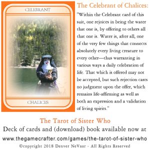 the Celebrant of Chalices