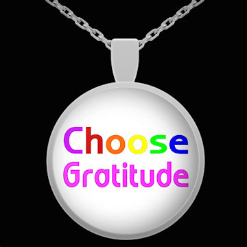 Choose Gratitude necklace
