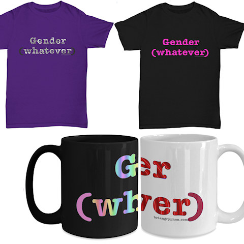 Gender (whatever) shirt