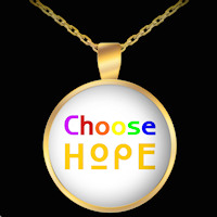 Choose Hope necklace