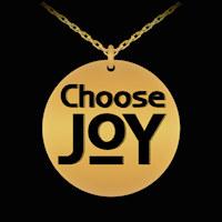 ChooseJOY engraved necklace