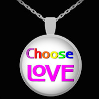 Choose LOVE necklace