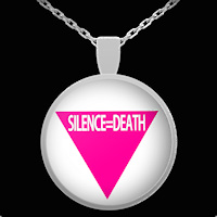 Silence=Death necklace